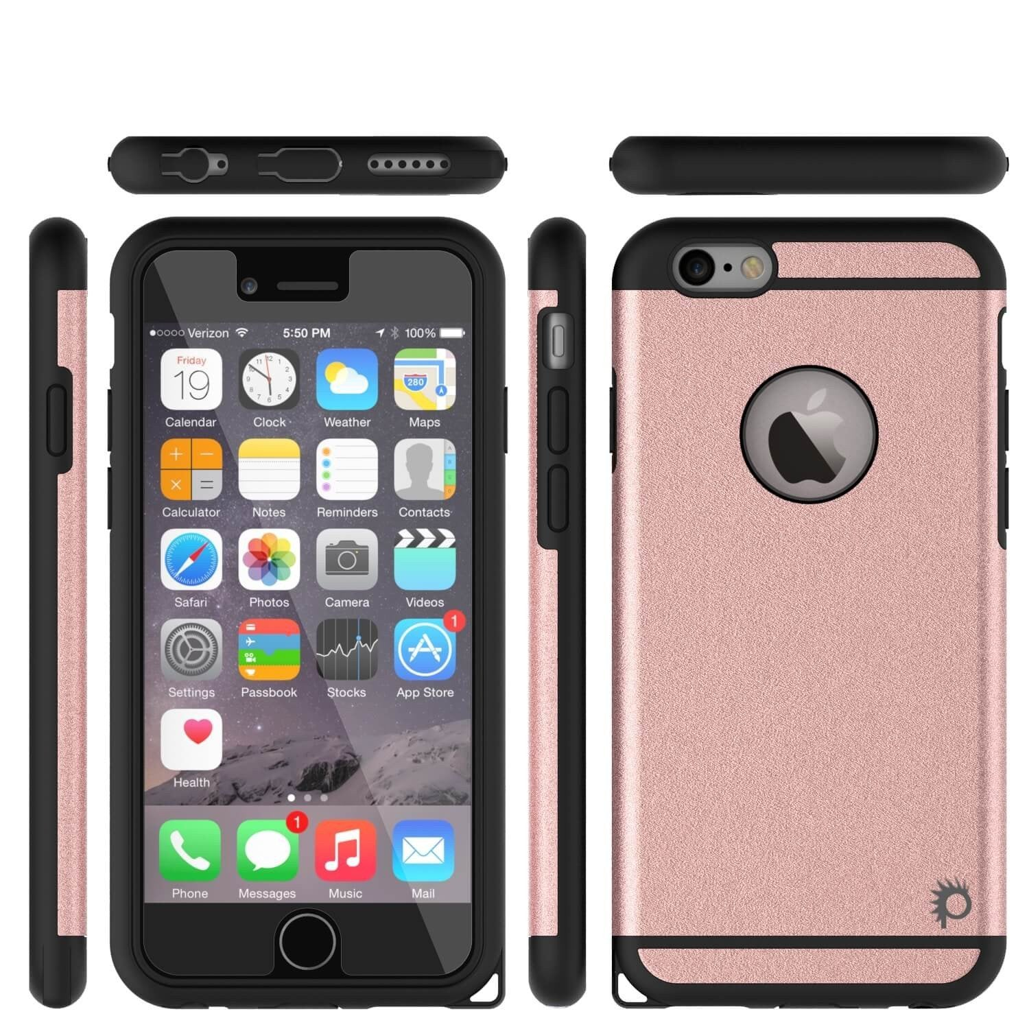 iPhone 5s/5 Case PunkCase Galactic pink Series Slim w/ Tempered Glass | Lifetime Warranty - PunkCase NZ