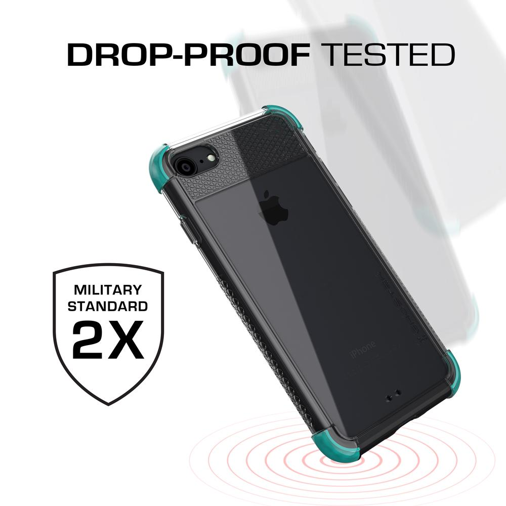 iPhone  7 Case, Ghostek Covert 2 Series for iPhone  7 Protective Case [TEAL] - PunkCase NZ