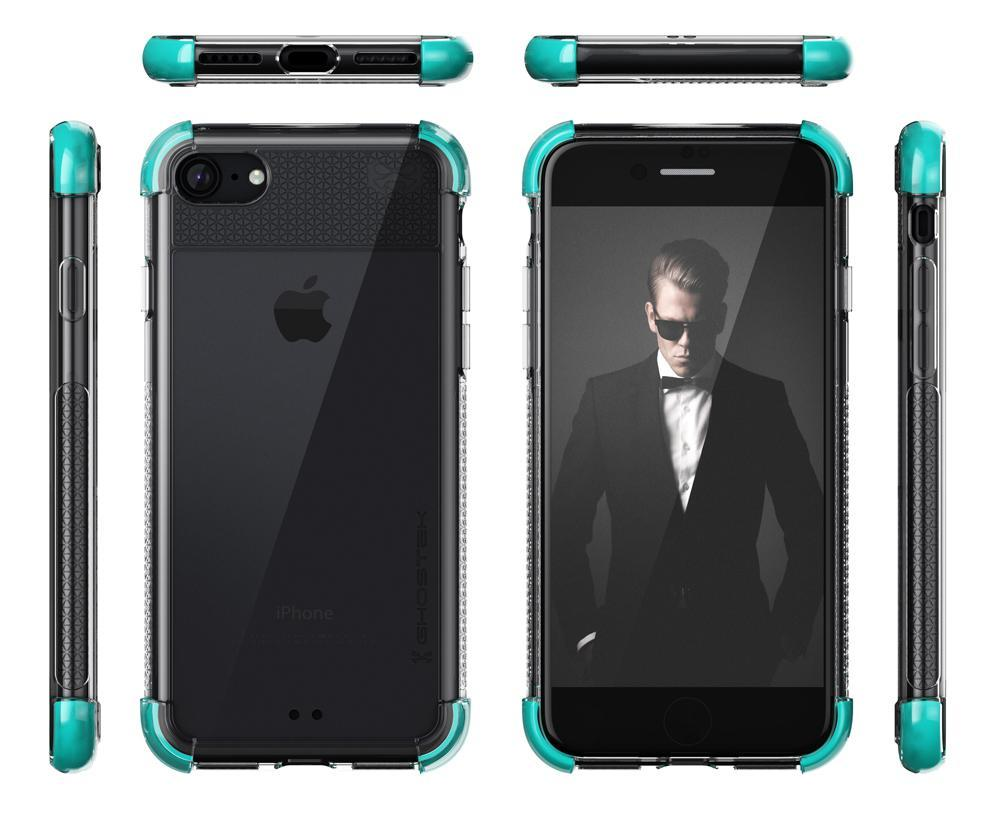 iPhone  8 Case, Ghostek Covert 2 Series for iPhone  8 Protective Case [TEAL] - PunkCase NZ