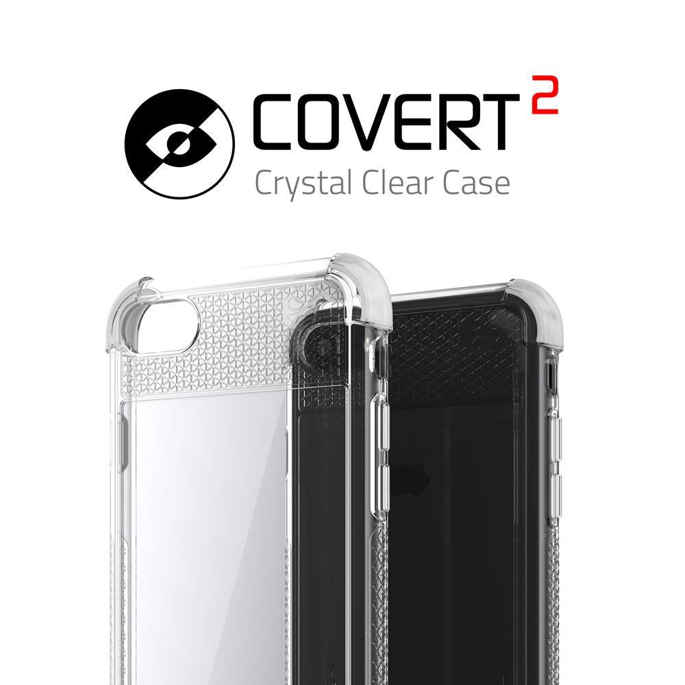 iPhone  8 Case, Ghostek Covert 2 Series for iPhone  8 Protective Case [White] - PunkCase NZ