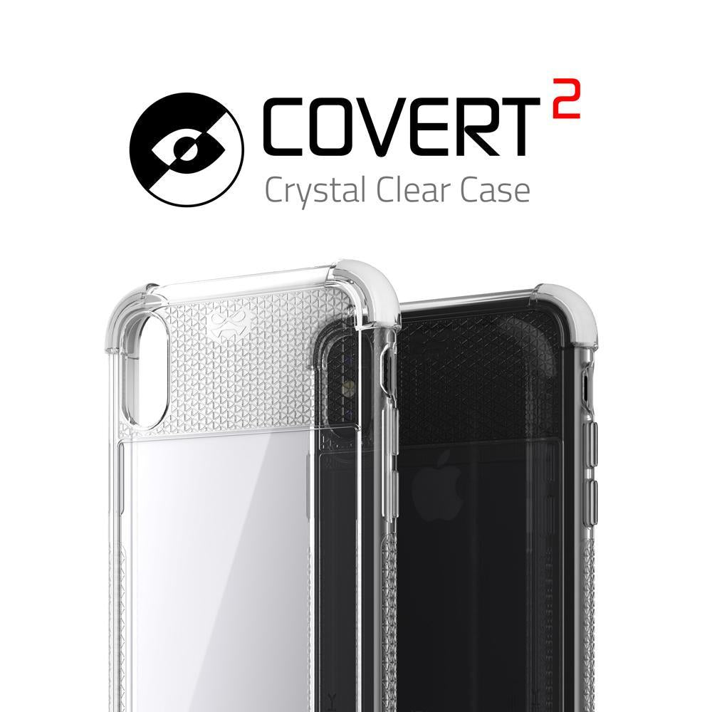 iPhone X Case, Ghostek Covert 2 Series for iPhone X / iPhone Pro Protective Case [White] - PunkCase NZ