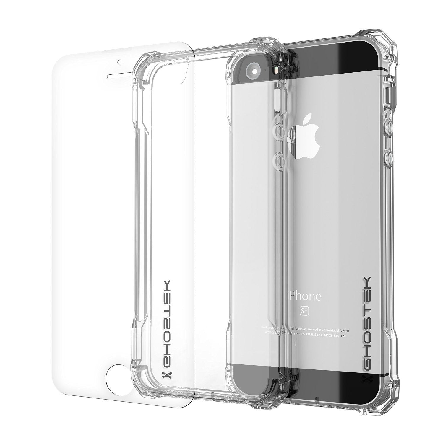 iPhone SE Case Ghostek® Covert Clear, Premium Impact Protective Armor | Lifetime Warranty Exchange - PunkCase NZ
