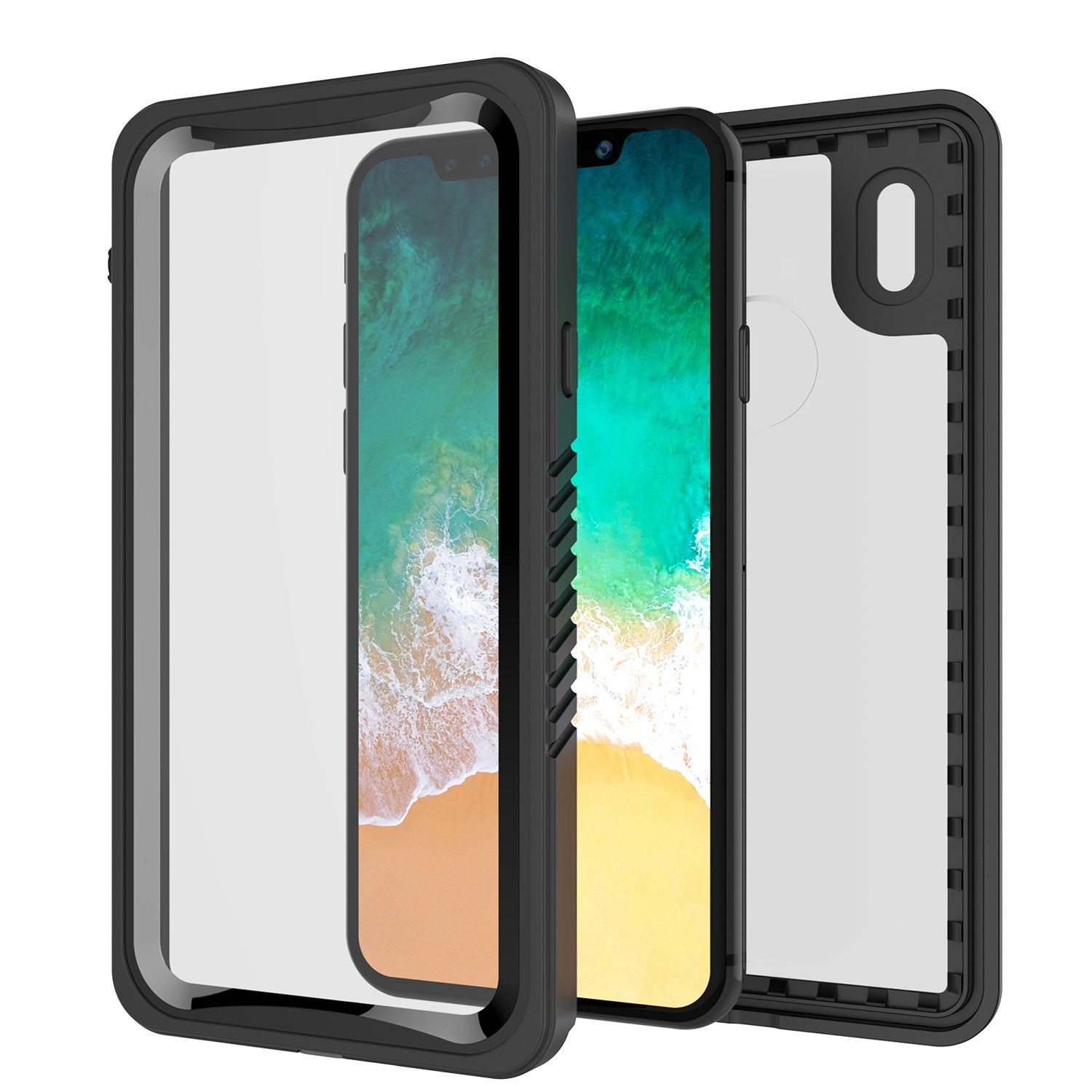 iPhone X Case, Punkcase [Extreme Series] [Slim Fit] [IP68 Certified] [BLACK] - PunkCase NZ