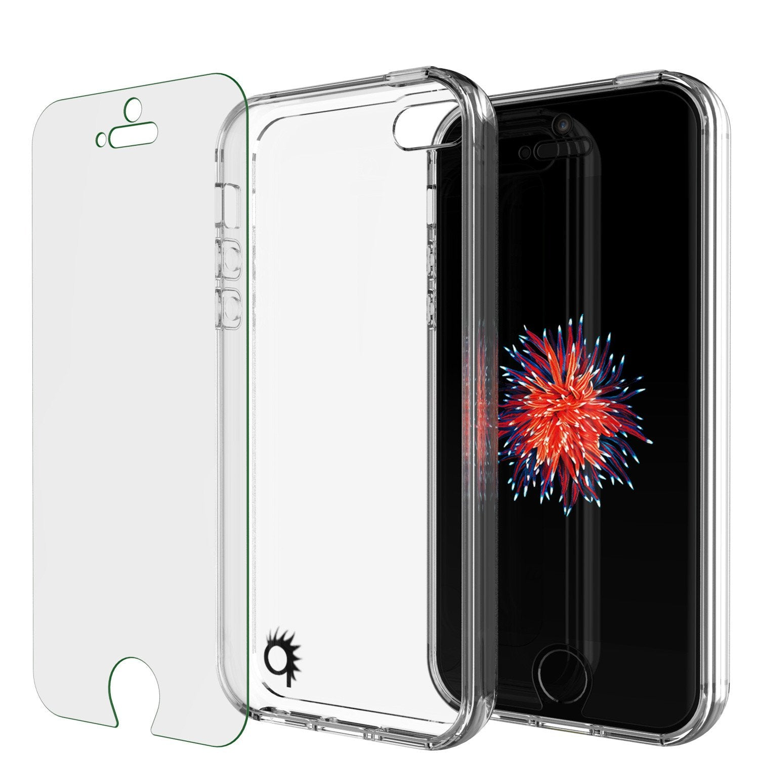 iPhone SE/5S/5 Case Punkcase® LUCID 2.0 Clear Series Series w/ PUNK SHIELD Screen Protector | Ultra Fit - PunkCase NZ