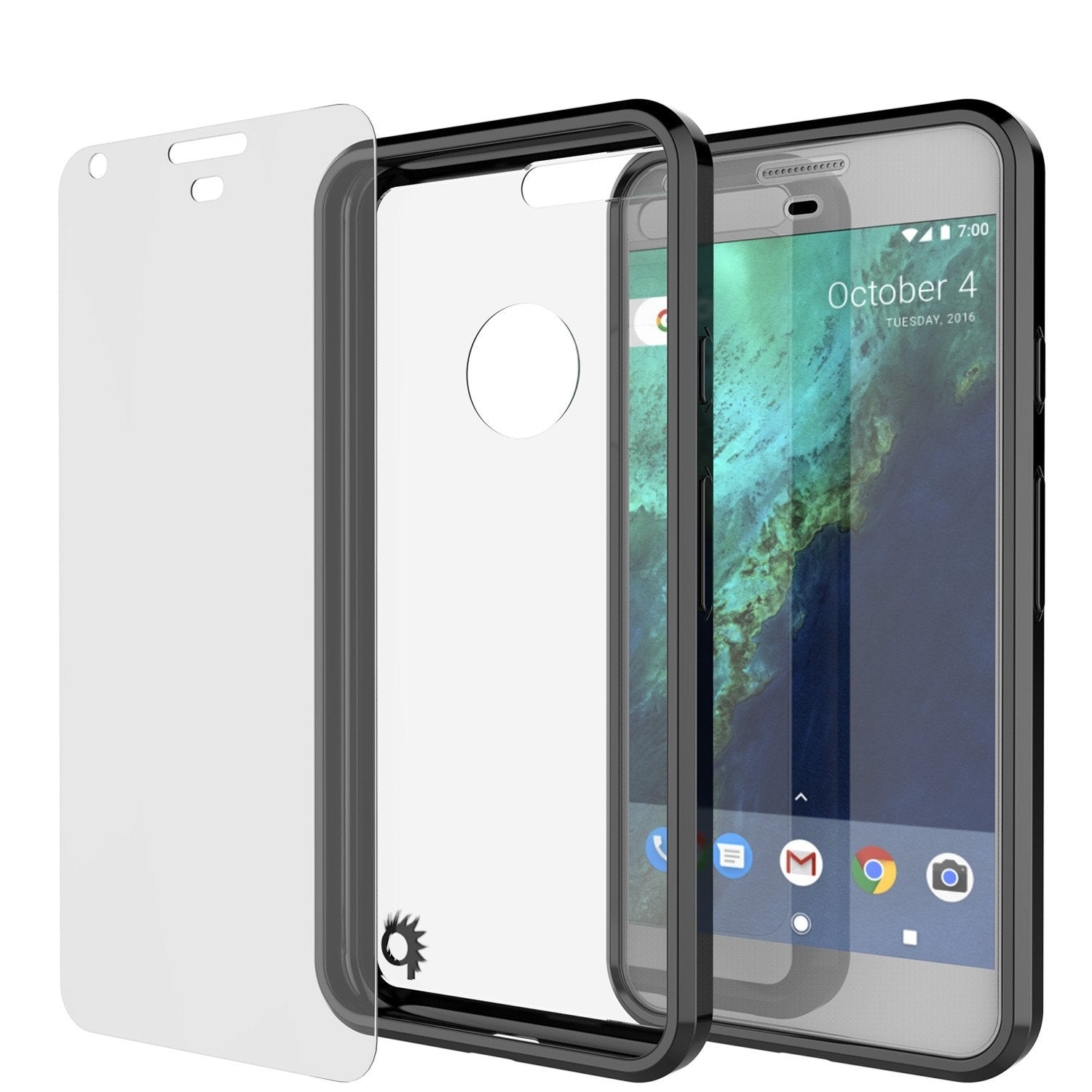 Google Pixel Case Punkcase® LUCID 2.0 Black Series w/ PUNK SHIELD Glass Screen Protector | Ultra Fit - PunkCase NZ