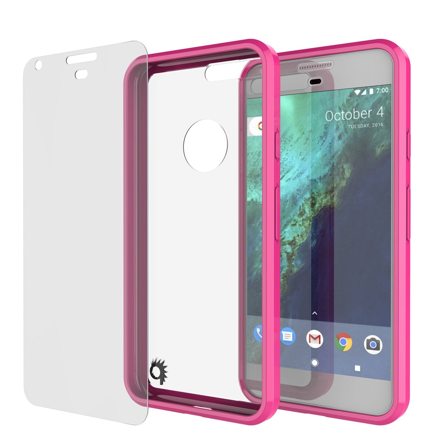 Google Pixel Case Punkcase® LUCID 2.0 Pink Series w/ PUNK SHIELD Glass Screen Protector | Ultra Fit - PunkCase NZ