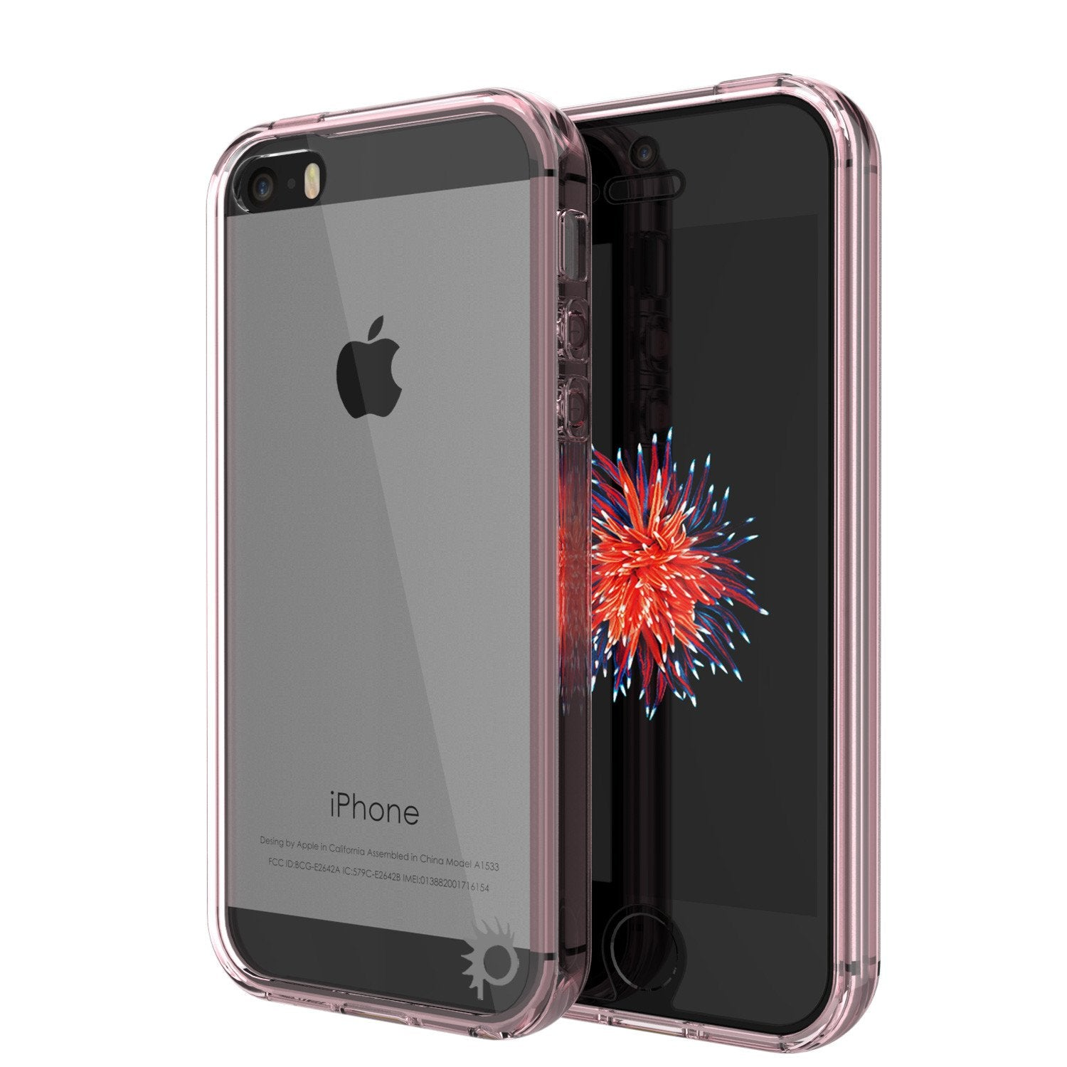iPhone SE/5S/5 Case Punkcase® LUCID 2.0 Crystal Pink Series w/ PUNK SHIELD Screen Protector | Ultra Fit - PunkCase NZ