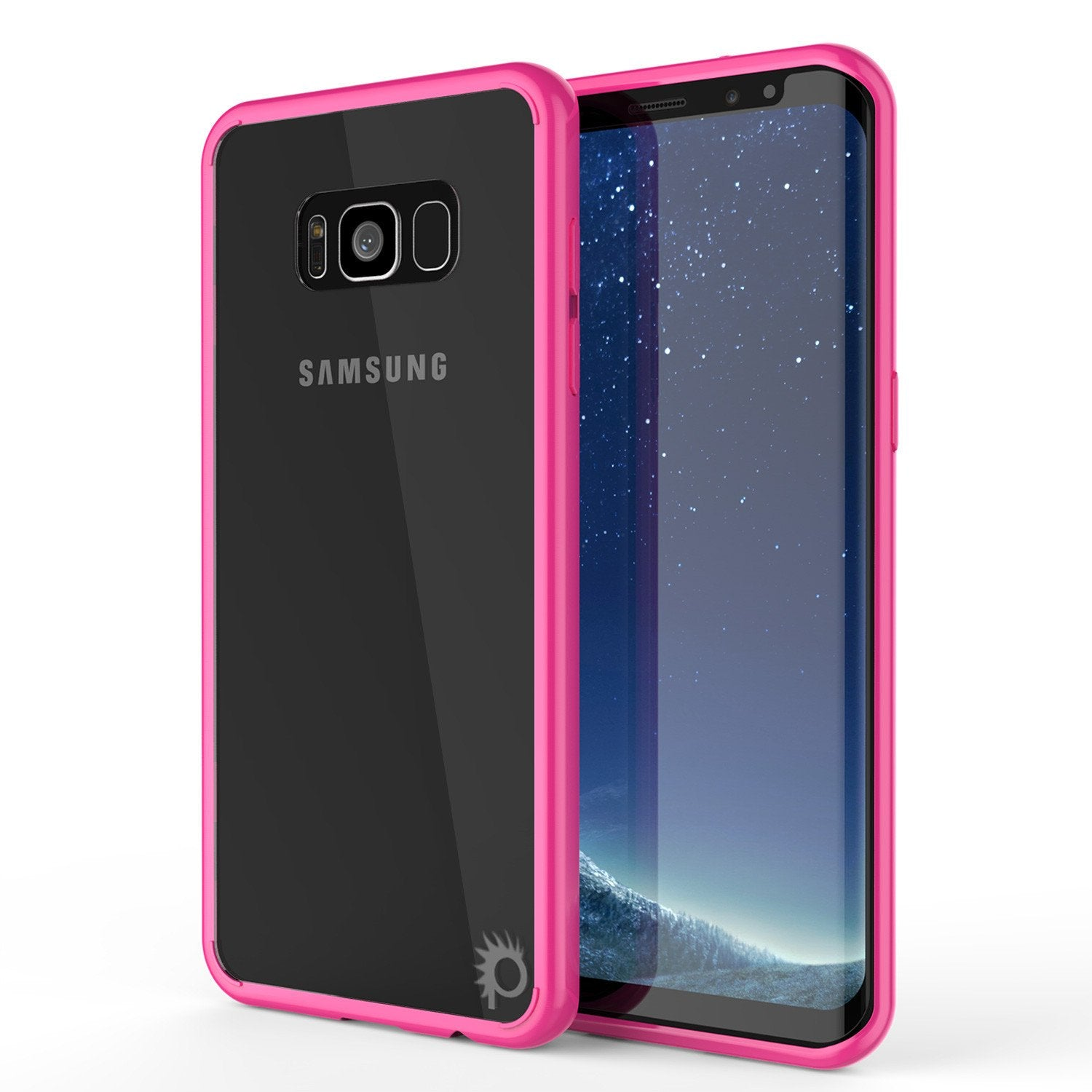 S8 Plus Case Punkcase® LUCID 2.0 Pink Series w/ PUNK SHIELD Screen Protector | Ultra Fit