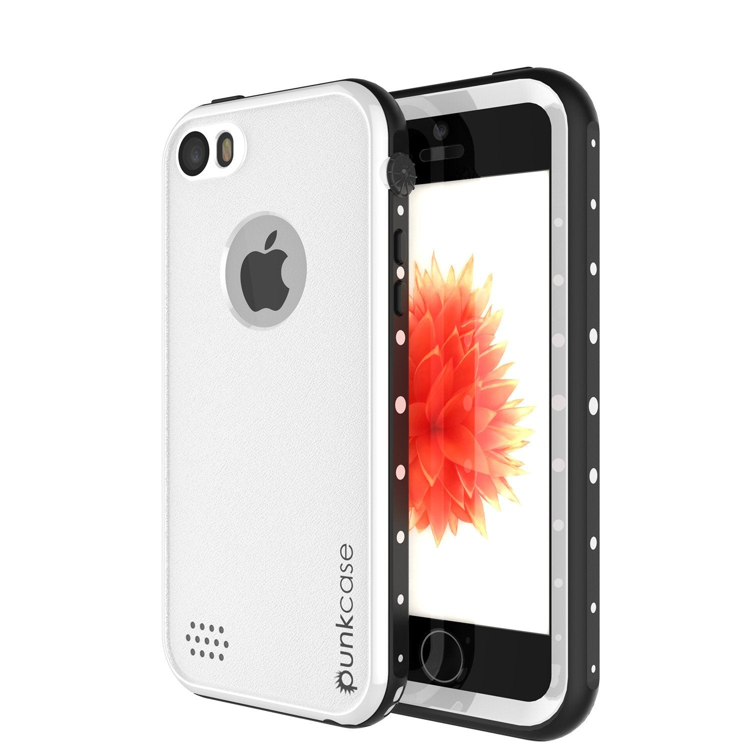 iPhone SE/5S/5 Waterproof Case, PunkCase StudStar White Shock/Dirt/Snow Proof | Lifetime Warranty - PunkCase NZ