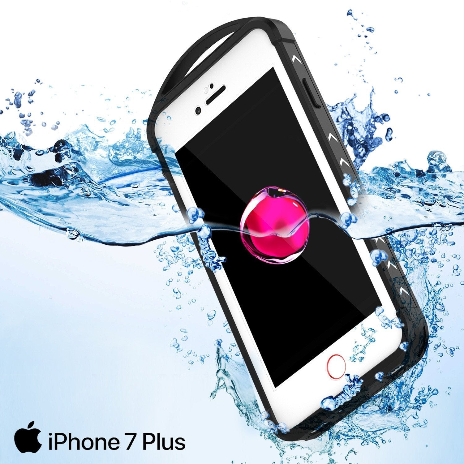 iPhone 8+ Plus Waterproof Case, Punkcase ALPINE Series, White | Heavy Duty Armor Cover - PunkCase NZ