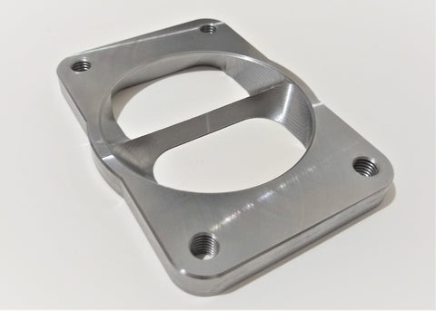 "3.5"" to T6 Twin Scroll Turbo Adapter Flange for Dodge Cummins"