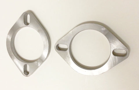 "3"" ID (2) Universal Exhaust Manifold Flange _1"