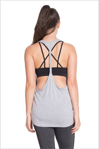 Braided Racerback Tank Top by IVETH