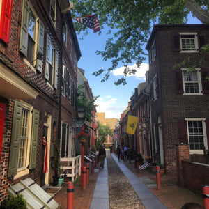 Working from Home on Elfreth's Alley
