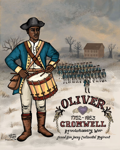 Oliver Cromwell Black Revolutionary War Soldier