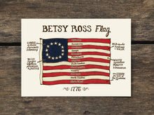 Betsy Ross Flag Philadelphia, PA Postcard