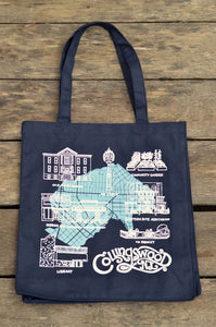 Collingswood, NJ Cotton Canvas Tote Bag