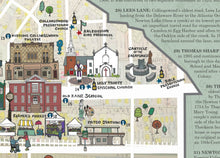 Collingswood History Map (Detail)