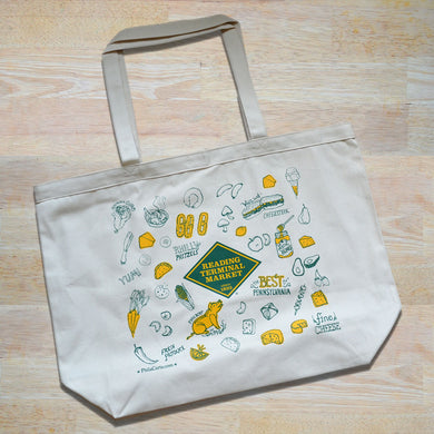 Reading Terminal Market Canvas Tote Bag