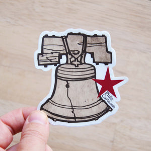 Liberty Bell Sticker - Weather Resistant Vinyl Decal