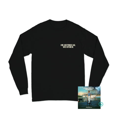 Heartbreak Weather Black Longsleeve + Digital Album