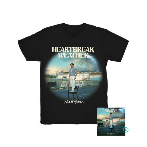 Heartbreak Weather Black T-Shirt + Digital Album