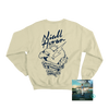 Heartbreak Weather Sand Crewneck Sweater + Digital Album