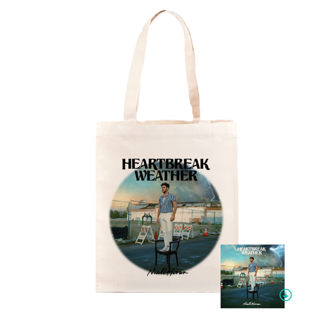 Heartbreak Weather Tote Bag + Digital Album
