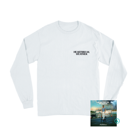 Heartbreak Weather White Longsleeve + Digital Album