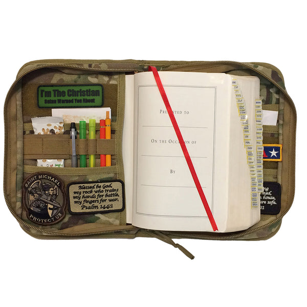 Military Style Bible Cover and Organizer