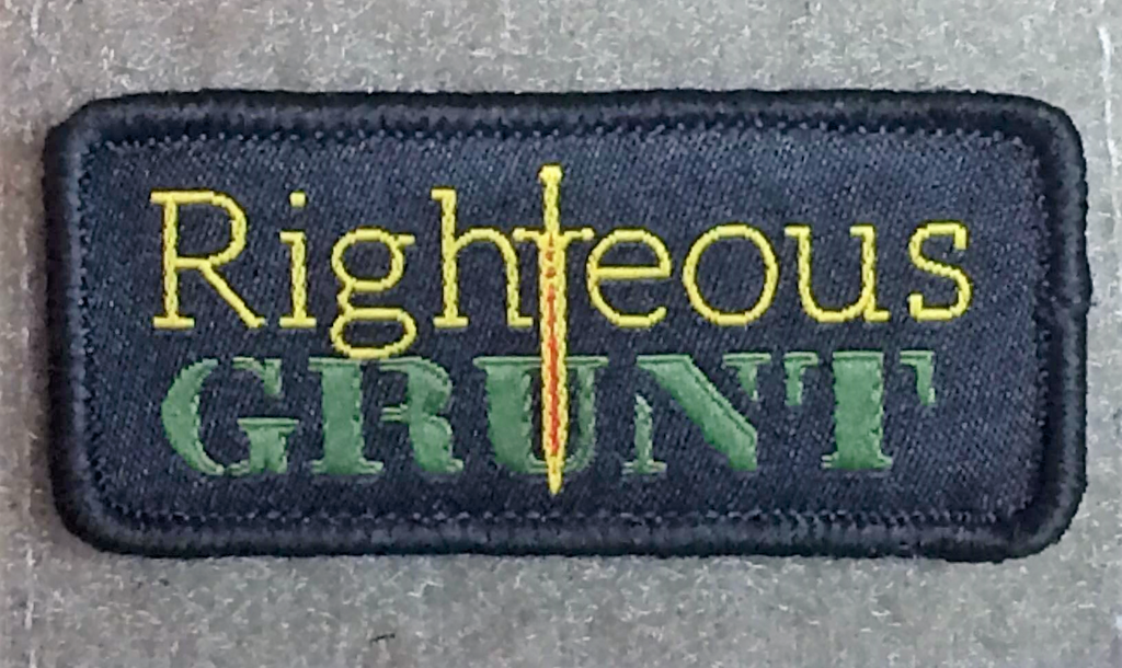 Righteous Grunt Logo Patch