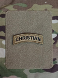Christian Shoulder Tab