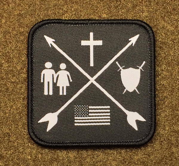 Priorities -Woven Morale Patch