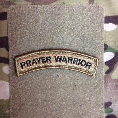 Prayer Warrior Shoulder Tab