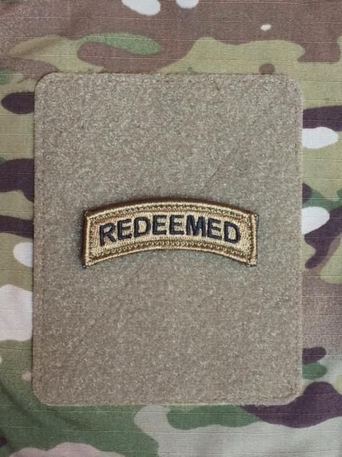 Redeemed Shoulder Tab