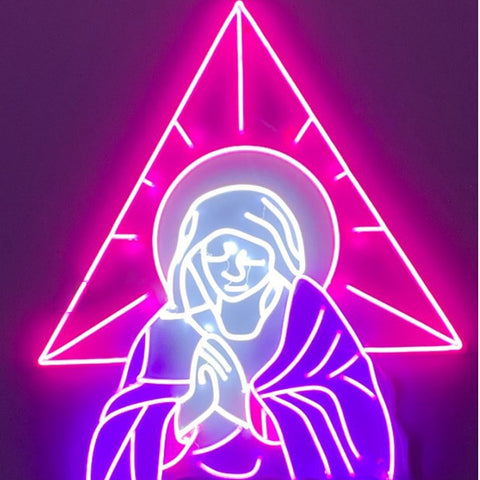 Custom Made Jesus bless LED Neon Sign Wall Lights