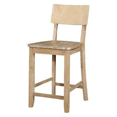 Linon 017101NAT01U Jordan Natural Counter Stool