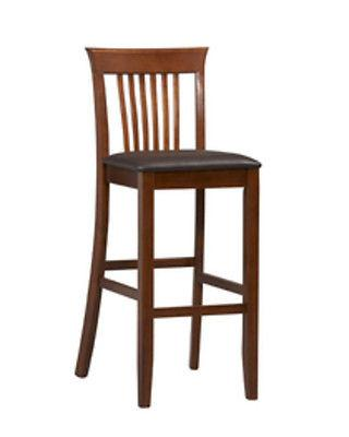 Linon 01858DKCHY-01-KD-U Triena Collection Craftsman Bar Stool 30
