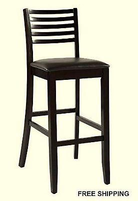 Linon 01863ESP-01-KD-U Triena Collection Ladder Counter Stool 24