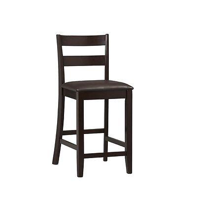 Linon 01866ESP-01-KD-U Triena Collection Soho Counter Stool 24
