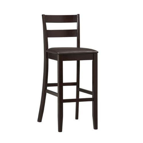 Linon 01867ESP-01-KD-U Triena Collection Soho Bar Stool 30