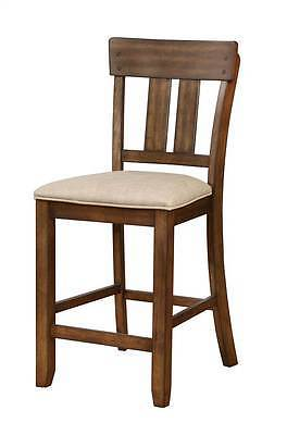 Linon 01869BRN01U Melville Counter Stool