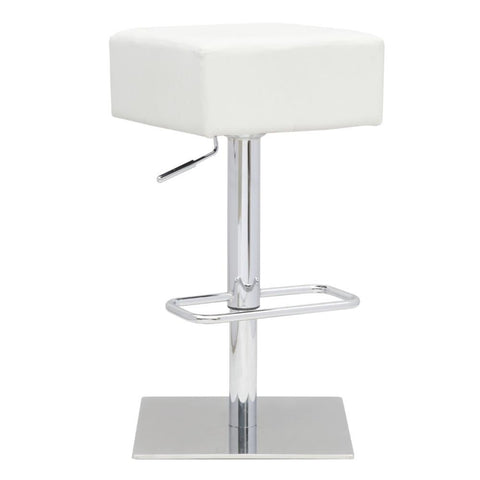 Fine Mod Imports FMI10018-white Marshmallow Bar Stool, White - Peazz Furniture - 1