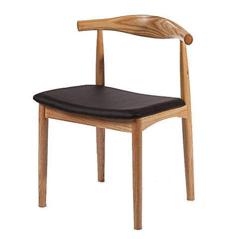 Fine Mod Imports FMI10035-natural Hansen Dining Chair, Natural - Peazz.com
