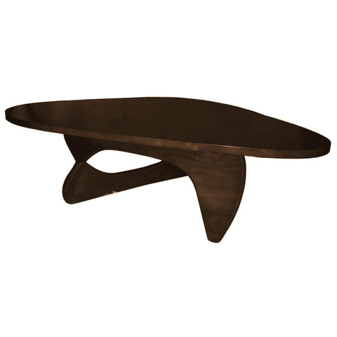 Fine Mod Imports FMI10040-dark walnut Rare Coffee Table, Dark Walnut - Peazz.com