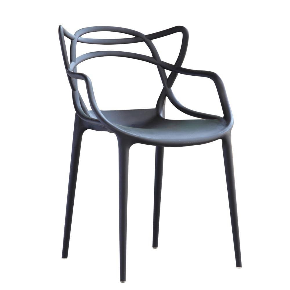 Fine Mod Imports FMI10067-black Brand Name Dining Chair, Black
