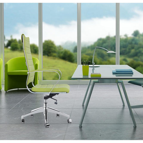 Fine Mod Imports FMI10078-green Sopada Conference Office Chair High Back, Green - Peazz.com - 7