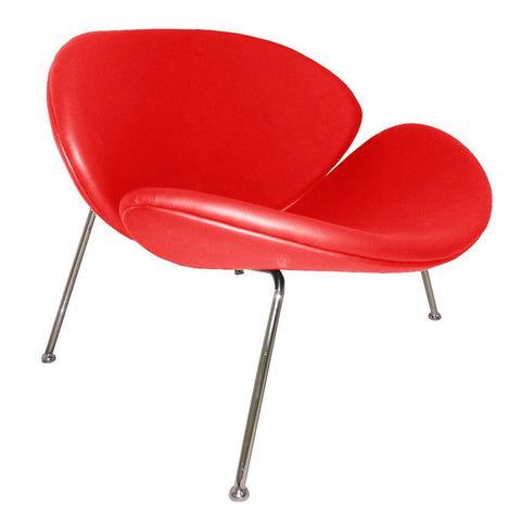 Fine Mod Imports FMI10090-red Slice Chair, Red - Peazz.com - 1