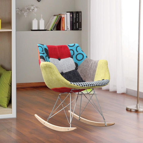 Fine Mod Imports FMI10099-colored Ginger Rocker Arm Chair - Peazz.com - 7