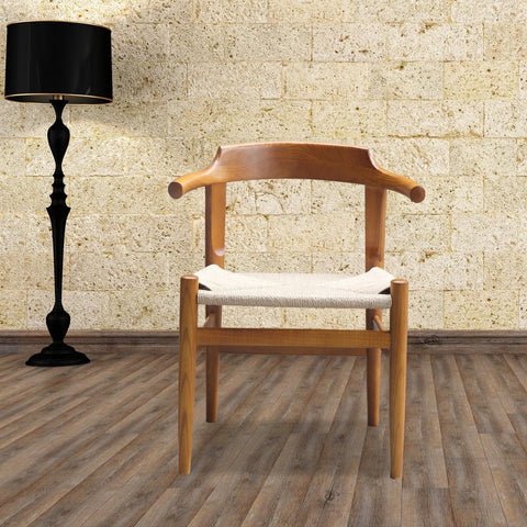 Fine Mod Imports FMI10106-walnut Stringta Dining Side Chair, Walnut - Peazz.com - 7